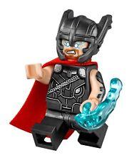LEGO Thor MINIFIG Minifigure Marvel Super Heroes 76084 Free Shipping