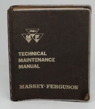 MASSEY-FERGUSON ~TECHNICAL MAINTENANCE MANUAL (VOLUME III)~Group 0 Basic Engines