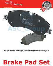 Apec Vorne Brems Scheiben Satz OE Qualität Ersatzteil mit Blinker Pad1793