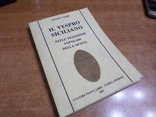 Giuseppe Pitrè IL VESPRO SICILIANO Edizioni Utopia 1987