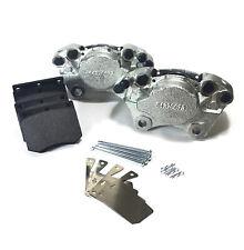 PAIR FRONT BRAKE CALIPERS & BRAKE PADS M16 FITS: FORD GRANADA MK1 MK2 BBK0004C