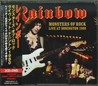 RAINBOW-MONSTERS OF ROCK: LIVE AT DONINGTON 1980-JAPAN  2CD+DVD O75