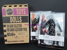 Lot of 2 TIM GUNN COLLECTION Barbie Doll Accessory Pack Outfit W3484 w/ SHIPPER