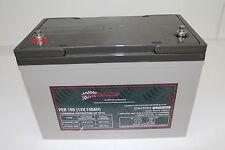 105AH AMP HOUR BATTERY AGM SLA 12 VOLT 12V DEEP CYCLE DUAL FRIDGE SOLAR 100AH