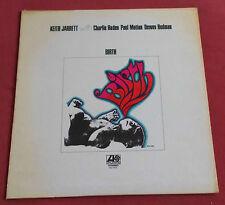 KEITH JARRETT  LP ORIG US  BIRTH  CHARLIE HADEN  PAUL MOTIAN  REDMAN DEWEY