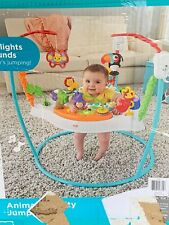 Fisher Price Animal Activity Jumperoo Sensory Music Lights Sounds Jumper Seat 1