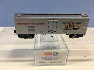 N Scale Micro Trains MTL 58560 Pepsi-Cola PCEX 58506 Tempty Tasty 36' Reefer
