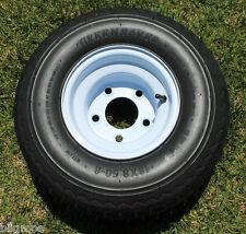 NEW Tire and 5 LUG Wheel For Golf Cart Taylor Dunn EzGo Cushman Club Car Star