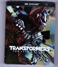 Transformers The Last Knight Steelbook (4K UHD/Bluray/Digital)