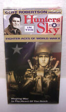 Hunters in the Sky VHS Tape Fighter Aces of World War ll Movie VCR NEW Vol. 2