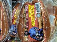 Earl Campbell's Cheddar Smoked Sausage 13 Oz (4 Pack)