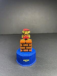 NINTENDO - Super Mario Bros - Pepsi Twist #1 Mario Bottle Cap Figure JAPAN