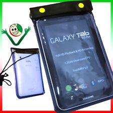 "Custodia impermeabile mare per Samsung Galaxy TAB 7"" Plus P1000 P6200 P6210 WPR1"
