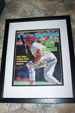 Pete Rose Sports Illustrated autograph