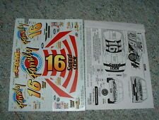 Slixx decals for #16 Family Channel Lot 2   BB