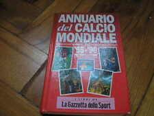 ANUARIO FÚTBOL MUNDIAL 95/96 LO PRESTI WORLD SOCCER ANUARIO FÚTBOL MONDIAL