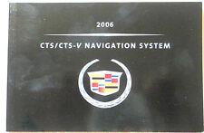 GM 2006 Cadillac CTS Navigation Manual #15776900A