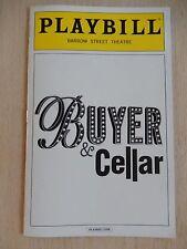 December 2013 - Barrow Street Theatre Playbill - Buyers & Cellar - Michael Urie