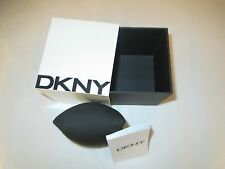 AUTHENTIC NEW DKNY COMPLETE WATCH BOX,CASE WITH MANUAL BOOKLET - $11.99