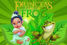 Princess Tiana and the Frog Backdrops Baby Shower Girls Birthday Party Backdrops
