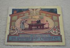 Antique Pool/Billiard/Brunswick/Table/Catalog BBC The Home Magnet Dated 1911