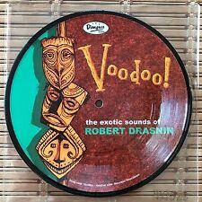 "7"" Robert Drasnin Voodoo Pic Disc Shag Heather Watts Exotica Martin Denny"