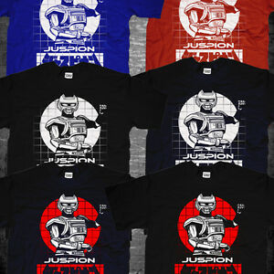 New Japan Classic Metal Heroes Tokusatsu Series Juspion Jaspion T-shirt Camiseta