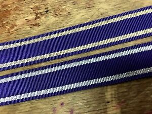 "Vintage Petersham Rayon Ribbon Metallic Ribbon 5/8"" Trim 1yd Made in France"