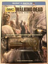 THE WALKING DEAD Season 4 (Blu-ray 5-Discs) WAL-MART exclusive with Prison Key