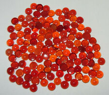 5mm MEXICAN MIXED COLOR  NATURAL FIRE OPAL ROUND CABOCHON