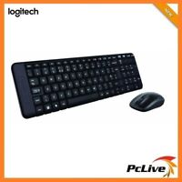 NEW Logitech MK220 2.4GHz Wireless Keyboard & Mouse Combo Optical Compact