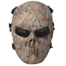 Outdoor Mask Airsoft Skull Full Face Protective Mask Protection Paintball
