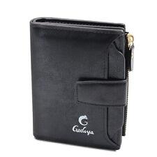 Best Leather Wallet For Men w/ Box - Minimalist RFID Large Detachable Card Slot