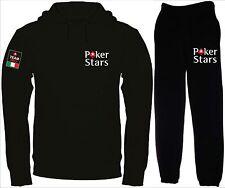 POKER STARS pokerstars tuta felpa e pantalone maglietta polo t-shirt hoodie N/N