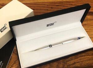 MONTBLANC StarWalker Silver Metal Platinum-coated Ballpoint Pen 118877 USED 1X