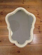 Antik Repro Spiegel mit geschwungenem Rahmen