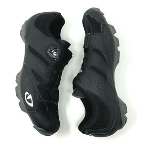Giro Cylinder W Women's Cycling Shoes Black Size EUR 41 US 9 Preowned No Box