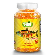 2 X Alaska Deep Sea Fish Oil, Omega 3, DHA/EPA 1000 mg 200 Softgels,FAST SHIP