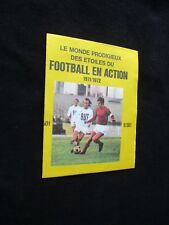FOOTBALL EN ACTION  1971-1972 POCHETTE PACK AGE AGEDUCATIFS PANINI