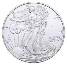 Rarest 1996 American Silver Eagle - Key Date - Rare LOW MINTAGE *766