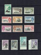 Falkland Islands Dependencies: 1954, definitive, Ships, short set to 5/-  LMM