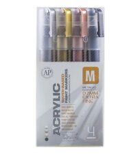 Montana Paint Marker Metallic 4 Set Xfine