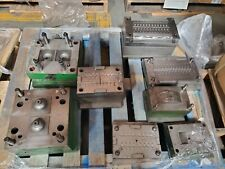 Plastic Injection Molds Lot Of 5 See Description For Sizes