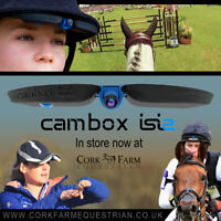 CAMBOX ISI2 Safe Discreet Tiny Action Sports Helmet Hat Cam Camera Equestran GB
