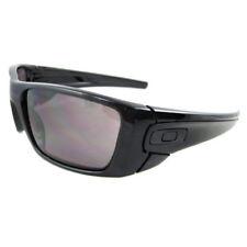 Gafas de sol de hombre negra rectangular Oakley