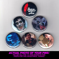 """An American Werewolf In London 1.5"""" Pins / Buttons (poster print movie horror)"""