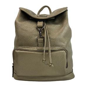QUALITY Ladies Womens Bag Bronze Pebbled Backpack Rucksack
