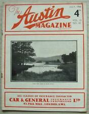 The AUSTIN MAGAZINE & ADVOCATE Car Magazine July 1940