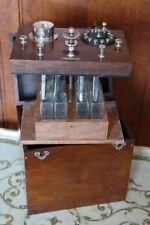 Coffret d'électrothérapie Ancien appareil de médecine H. Dutar XIXè