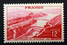 FRANCE BARRAGE DE GENISSIAT  AIN TIMBRE NEUF N° 817 **  MNH 1948    B4